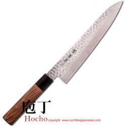 Cuchillo Hocho Gyuto Damasco 240 mm